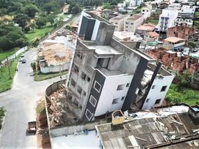 PRÉDIO DE 5 ANDARES EM CONSTRUÇÃO CAI, EM BETIM