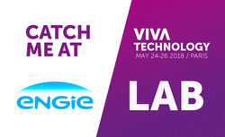 Adilson with ENGIE LAB at VIVATECHNOLOGY Show