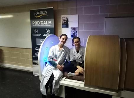 Le premier hôpital de France à être équipé de notre capsule de siestE!