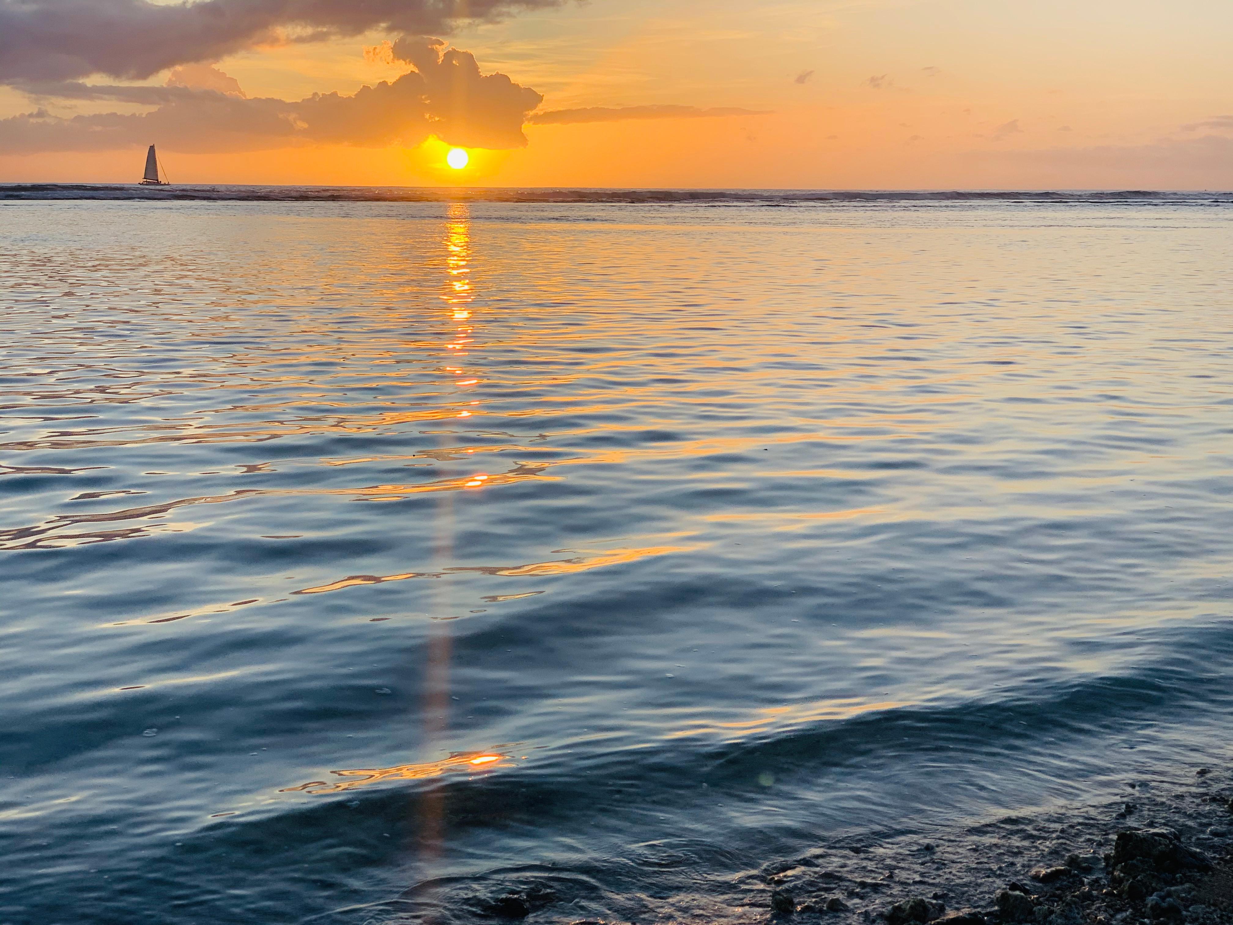 Janzu sunset