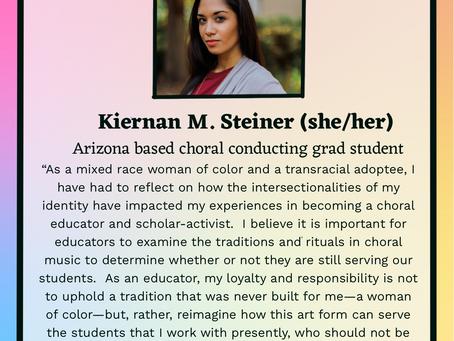 Choirclusive Leader Spotlight: Kiernan M. Steiner