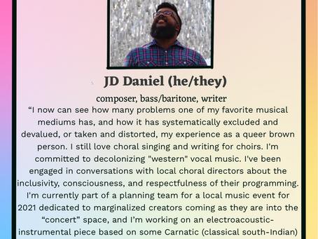 Choirclusive Leadership Spotlight: JD Daniel
