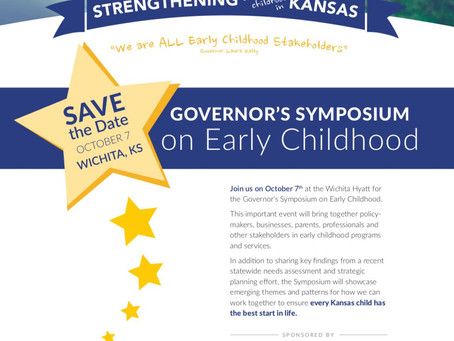 Don't Miss The Governor's Symposium on Early Childhood