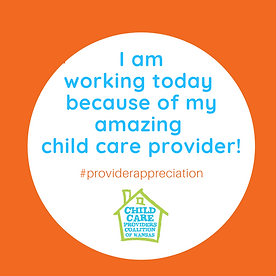 I am working today because of a provider