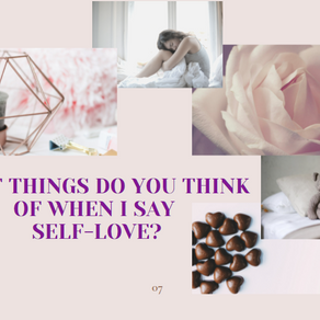 Self-Love or Self-care