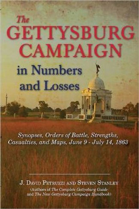 Gettysburg Campaign in Numbers and Losses