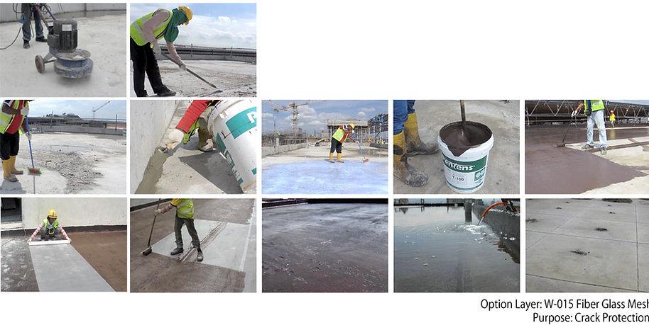 Pentens Waterproofing Surabaya Indonesia