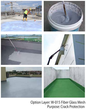 Pentens T-200H UV Resistant Elastomeric PU Waterproofing Coating