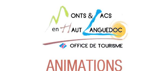 Animations Monts e lacs en Haut Langedoc
