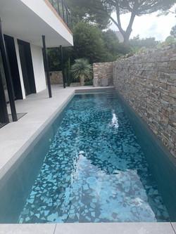 couloir de nage contemporain