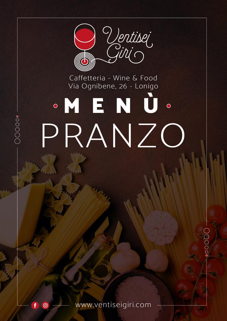 Menù Pranzo