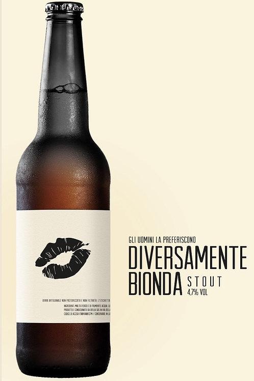 """DIVERSAMENTE BIONDA "" Stout Birrificio Ofelia 33 CL"