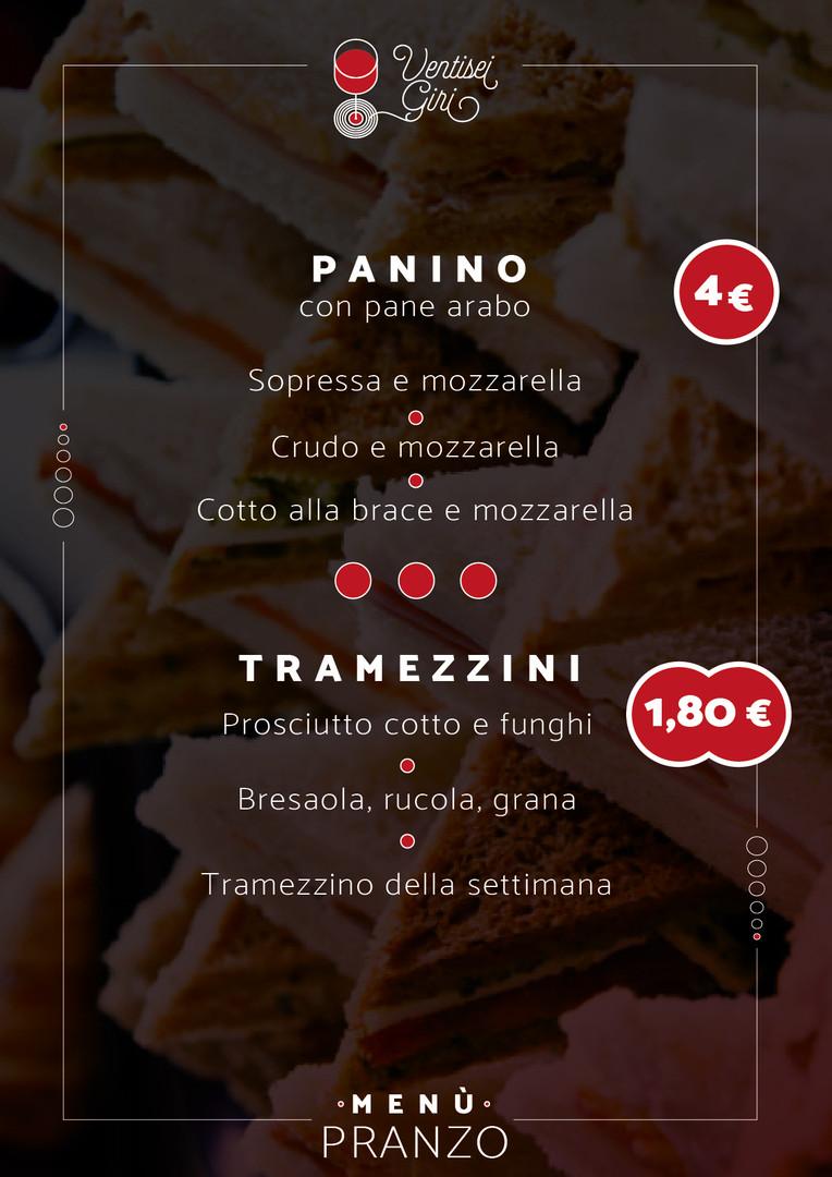 Panino - Tramezzini