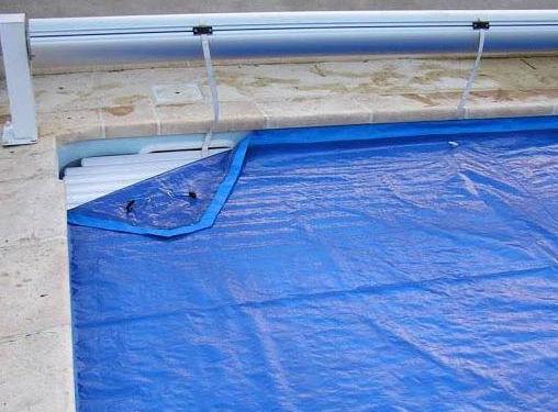 Pool-Ô-Top Bâche pour volet piscine