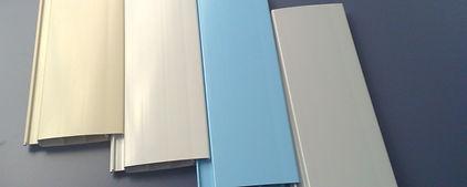 Coloris et types de lames de volet pous piscines