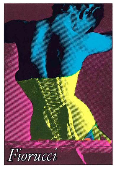 A12) Fiorucci Stickers, 1984, Panini, Mo