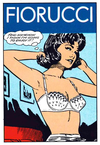 A11) Fiorucci Stickers, 1984, Panini, Mo