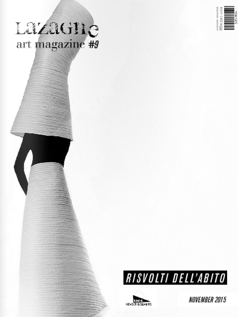 Lazagne Art Magazine #9 RISVOLTI / Print