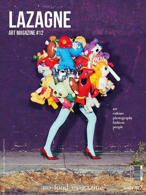 Lazagne Art Magazie #12 COLORS / Print