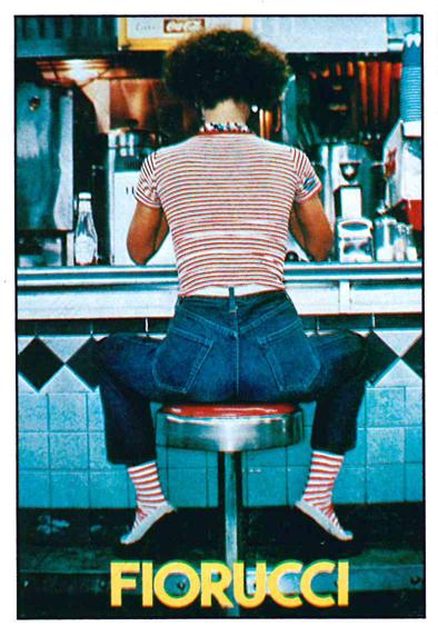 A9) Fiorucci Stickers, 1984, Panini, Mod