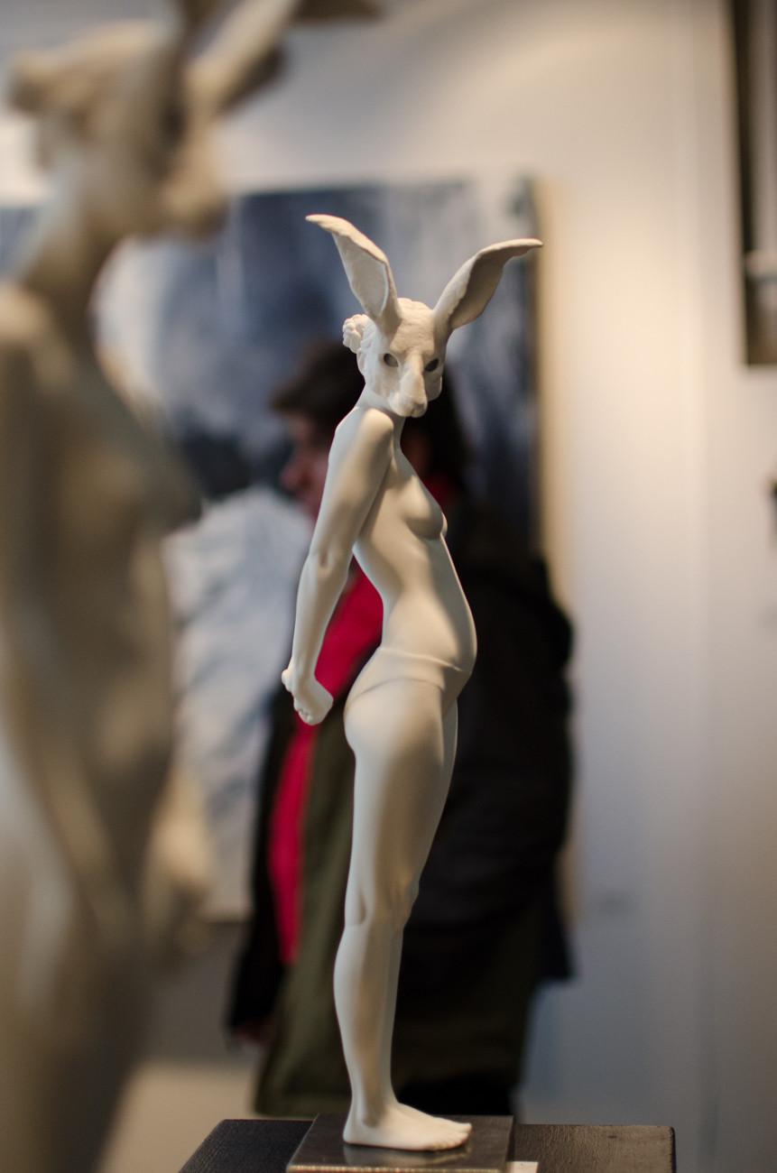 Rachel Ann Stevenson London Art Fair 2016, Bo.Lee Gallery, London UK title: Virgils Echo Photo by Alessandro Conficoni