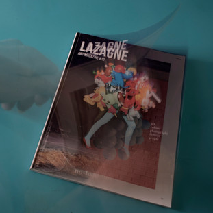 Lazagne magazine is ready