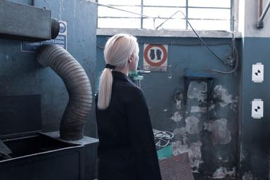 shooting Katya Stroganova