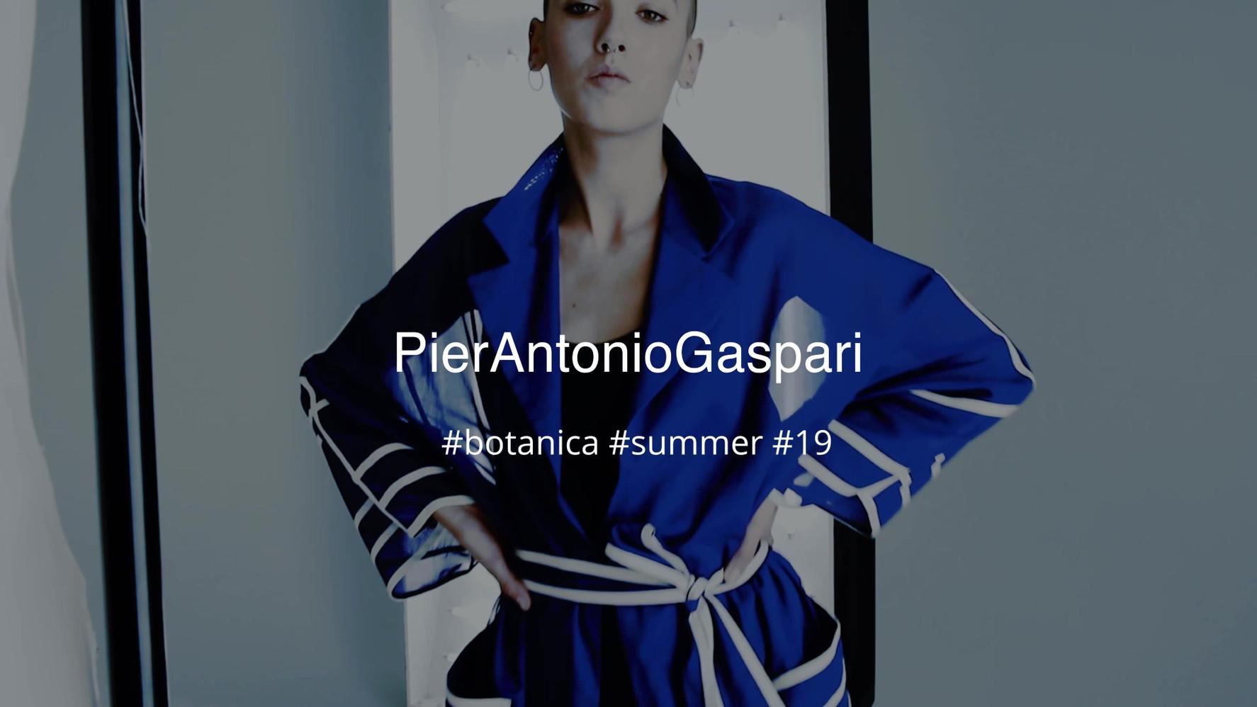 Anna Bertozzi - Director and Sound www.annabertozzi.com PierAntonioGaspari  -Stylist  Produced - Lazagne magazine Fashion assistant - Elisa Bacchi Model - Valeria Caputo