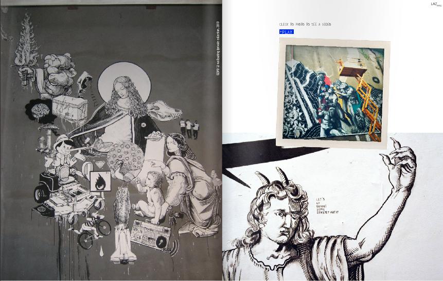 Ozmo Lazagne art magazine