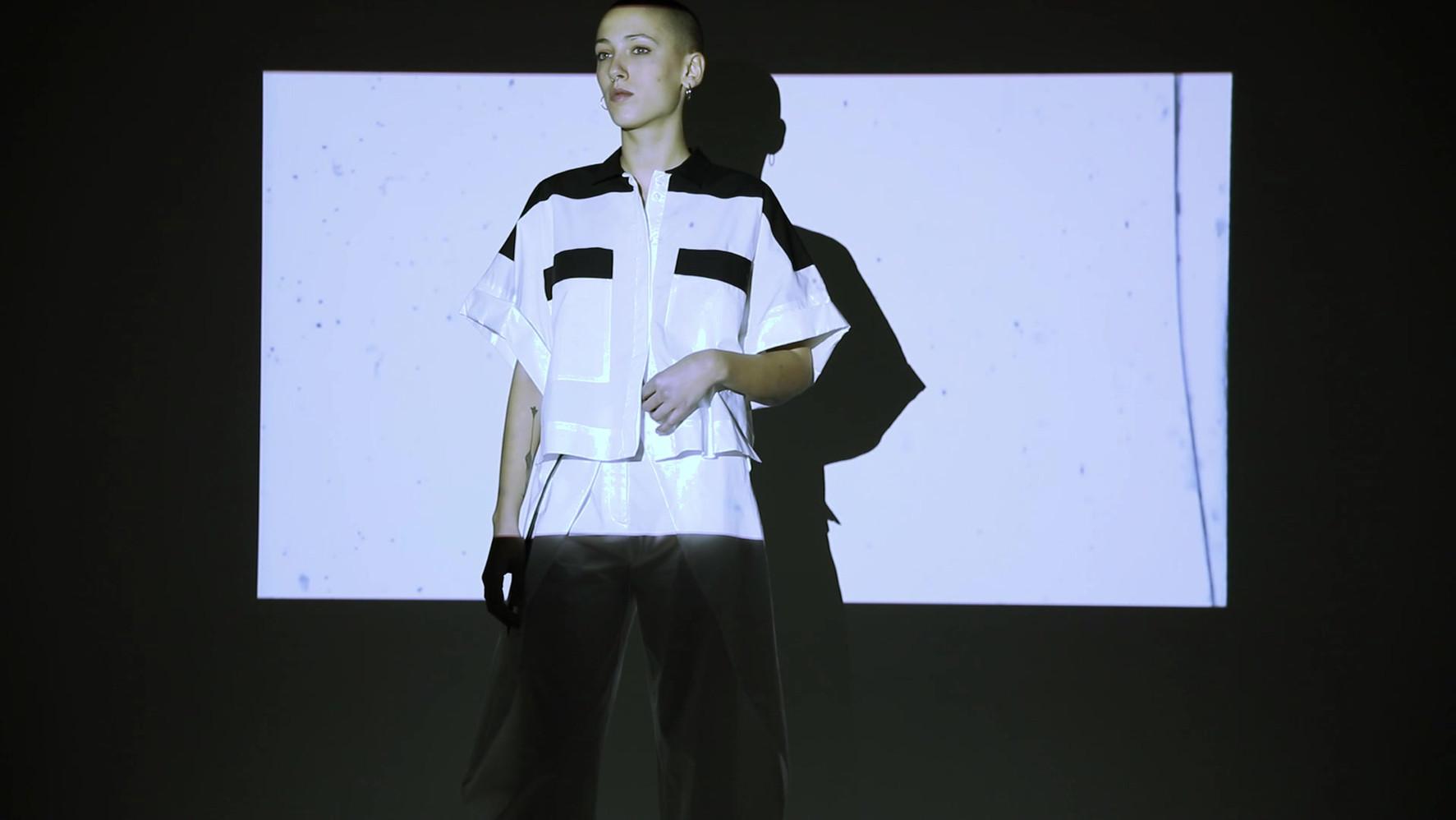 video and sound by Anna Bertozzi model Valeria Caputo