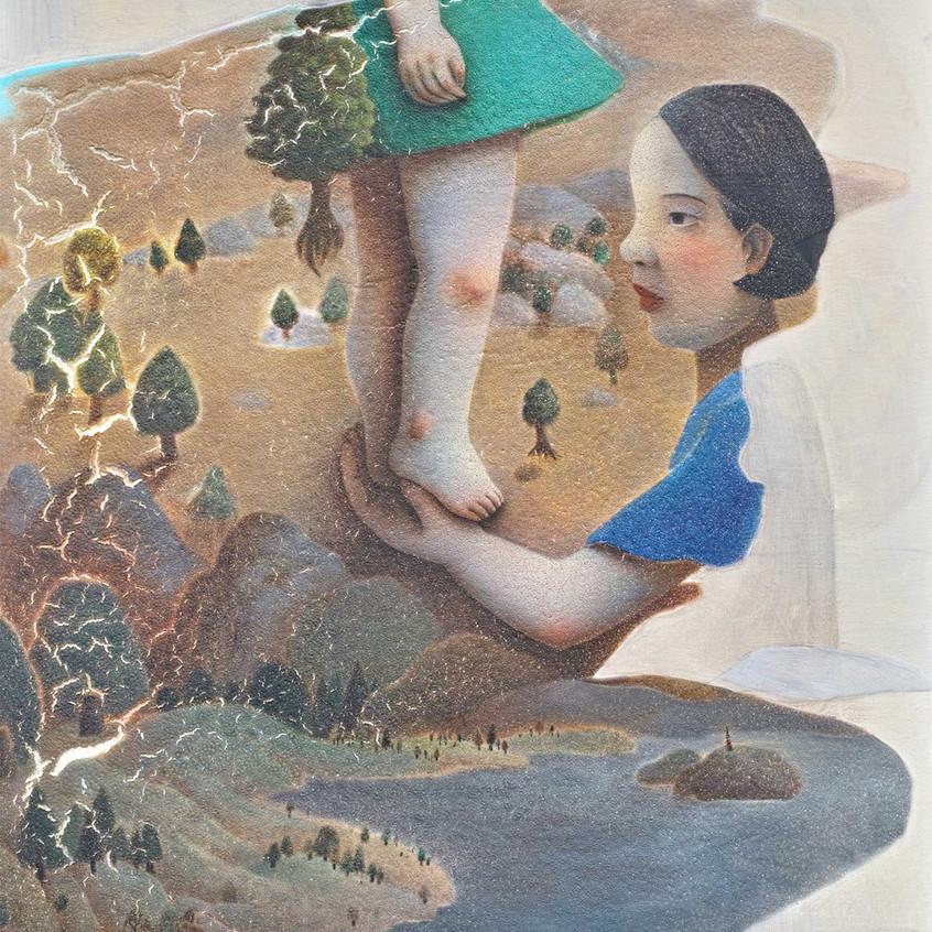 07_-Chen-Ke-Dance-mixed-media-on-Canvas-2015-per-la-mostra-UNBOUNDED (1)
