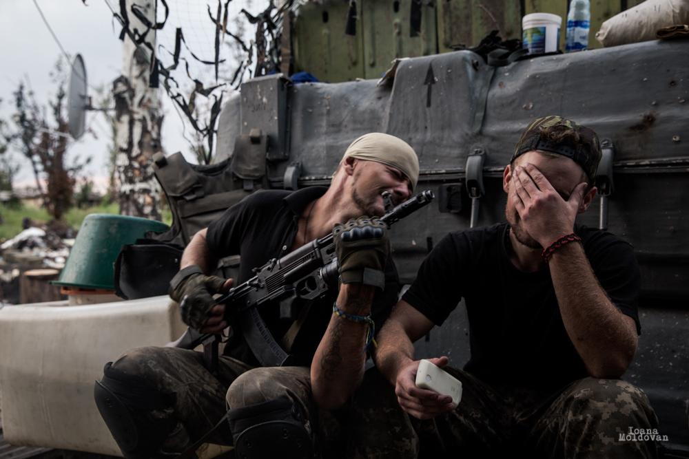 Ukraine frontline _ioana moldovan