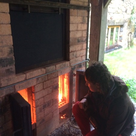 Firing of the kiln