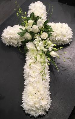 Deluxe White Cross