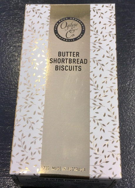 Ogilvies Butter Shortbread Biscuit Floral DeVine Hunters Hill