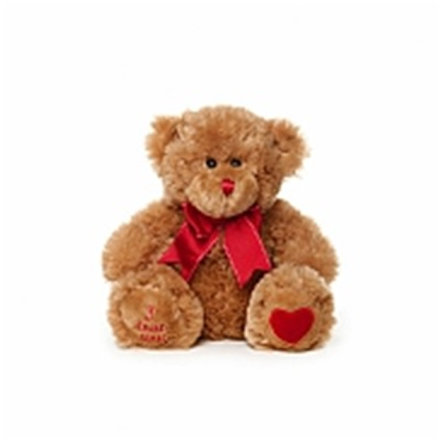Teddy Baby Soft Toy Floral DeVine Hunters Hill Delivery Gladesville Woolwich Drummoyne Five Dock Putney Ryde Lane Cove