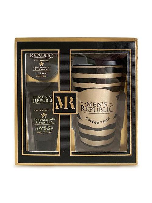 Men's Republic Grooming Kit with Coffee Mug
