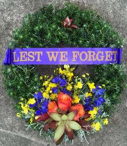 Anzac Day Wreath - Native & Corporat