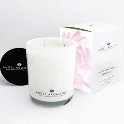 Angel Aromatics Natural Wax Candle Large Floral DeVine Hunters Hill Florist Daily Delivery Gladesville Woolwich Drummoyne