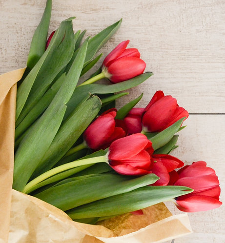 Tulip Bouquet Floral DeVine Hunters Hill Florist Flower Daily Delivery Gladesville Woolwich Lane Cove Putney D