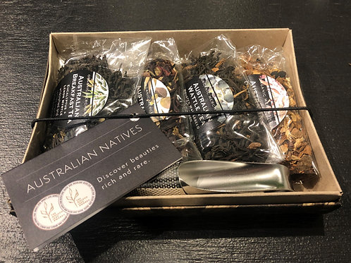 Organic Merchant Tea Gift Set with Infuser - Australian Natives