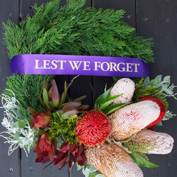 Australian Native Wreath