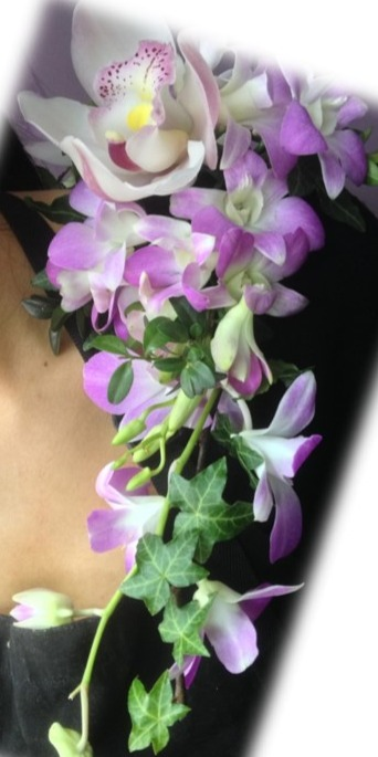 Shoulder Spray Corsage