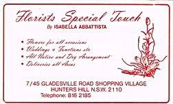 Florist Special Touch