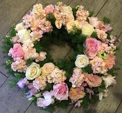 Deluxe Pink Wreath