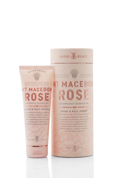 Maine Beach Organic Hand & Body Range - Mt Macedon Rose