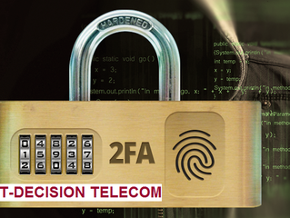 The safety of your business is in your hands! IT-Decision Telecom recommends modern methods of authe