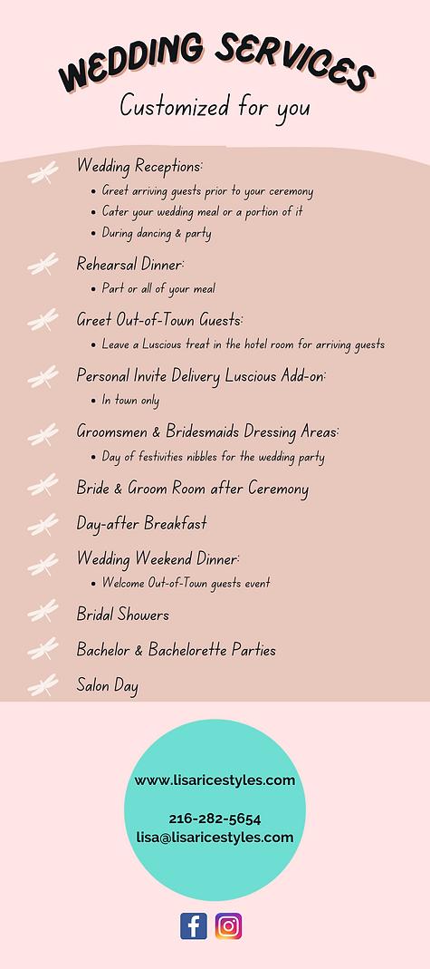Copy of Copy of Luscious wedding service