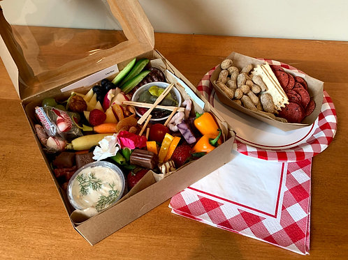 Picnic Boxes & Platters, from individual to large
