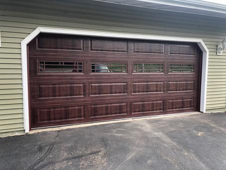 New wood grain door with a twist!